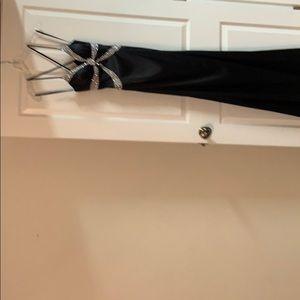 Gorgeous beaded black long dress